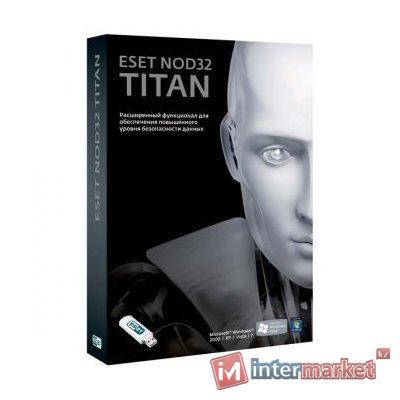 Антивирус ESET NOD32 TITAN version 2 – базовая лицензия на 1 год для 3ПК и 1 мобильного устройства
