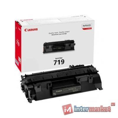 Картридж, Europrint, EPC-719, Для принтеров Canon LBP 6300/6650/6670, imageCLASS 5850/5870/5880/5930/6140/6160, 2100 страниц.