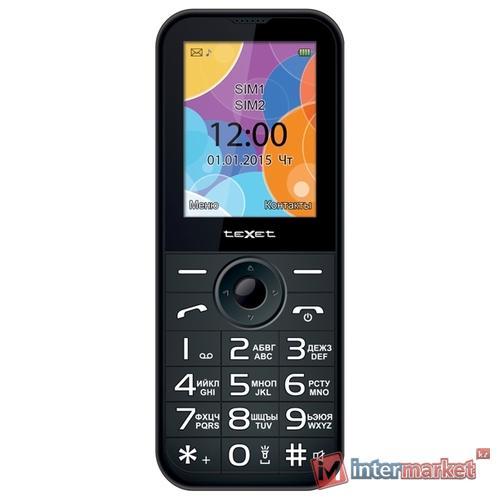 Мобильный телефон teXet TM-B330, антрацит