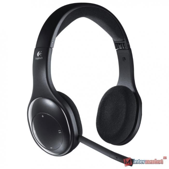 Наушники Logitech H800 Bluetooth, Black