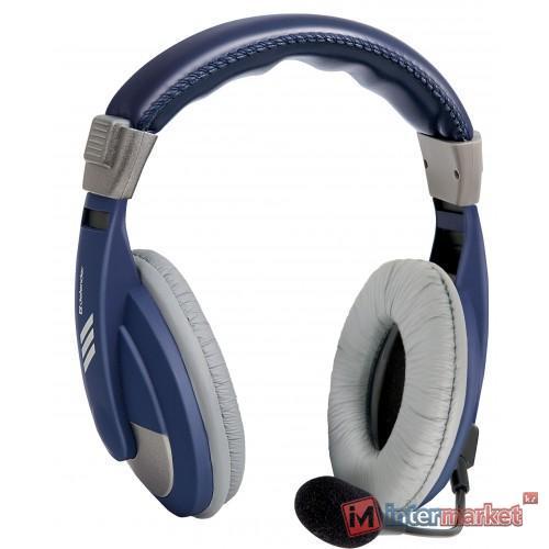 Наушники с микрофоном Defender Gryphon HN-750 Blue
