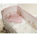 Постельное белье Perina Тиффани Неженка розовая 3 предмета