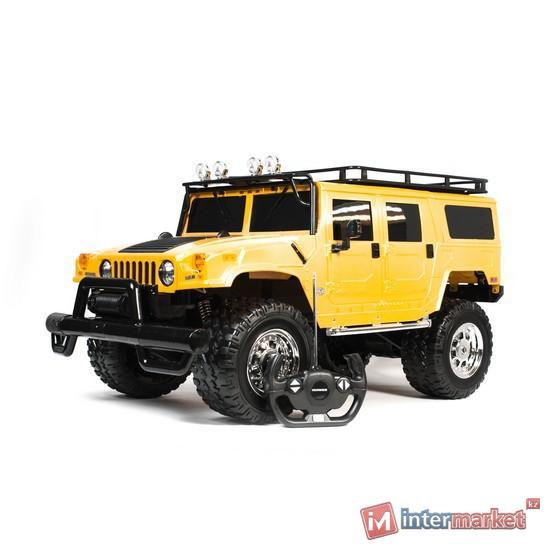 Радиоуправляемая машина RASTAR 1:6 HUMMER H1 SUV 28600Y, желтый